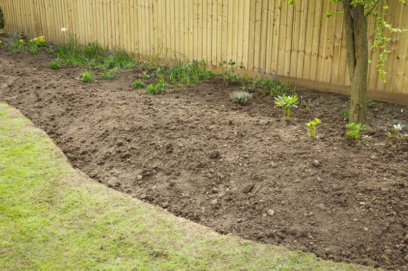dug top soil